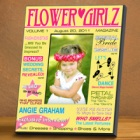 Flower Girl Personalized Magazine Picture Frames
