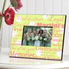 Personalized Maid of Honor Picture Frames