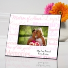 Personalized Matron of Honor Picture Frames