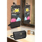 Embroidered Nylon Hanging Toiletry Bags