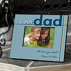 Cool Dad Personalized Wood Picture Frames