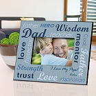All-Star Dad Personalized Wood Picture Frames