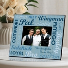 Personalized Wedding Party Buddies Best Man Picture Frames
