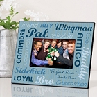 Personalized Wedding Party Buddies Picture Frames