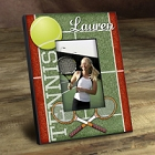 Personalized Colorful Tennis Picture Frames