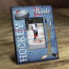 Personalized Power Play Colorful Hockey Picture Frames