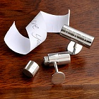 Engraved Secret Compartment Cufflinks