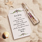 Personalized Deluxe Message In A Bottle