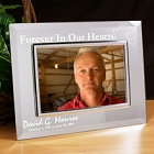 Forever In Our Hearts Personalized Memorial Mirror Picture Frames