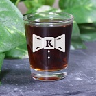 Personalized Groom Shot Glass