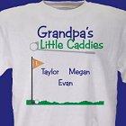 Little Caddies Personalized Golf T-Shirt