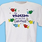 The Best Catches Personalized Fishing T-Shirt