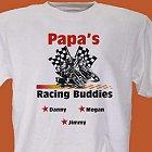 Racing Buddies Personalized Dirt Bike Racing T-Shirts