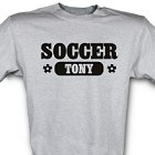 Soccer Fan Personalized Sports T-shirts