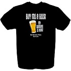 Buy Me A Beer Groom To Be Personalized T-shirt