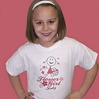 Flower Girl Personalized Youth T-shirts