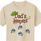 Keepers Personalized Fishing T-Shirt