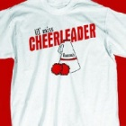 Personalized Cheerleader Youth T-Shirt