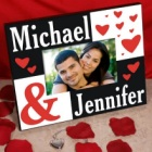 Personalized Valentines Day Picture Frames