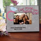 Last Fling Personalized Bachelorette Party Picture Frame