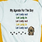 Agenda For the Day Personalized Sweatshirt