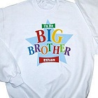 Little/Middle/Big Brother Star Personalized Youth Sweatshirt