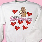 Sweetheart Bears Personalized Grandma Sweatshirts