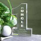 Number One Uncle Personalized Keepsake