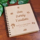 Personalized Vacation Wood Photo Album