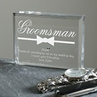 Engraved Best Man Personalized Keepsakes