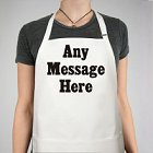 Any Message Personalized BBQ Aprons