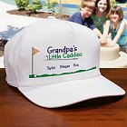 Little Caddies Personalized Golf Hat