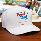 Proud Dad Personalized Fathers Day Hats