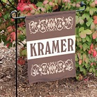Family Name Personalized Garden Flags