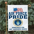 Military Pride Personalized Garden Flags