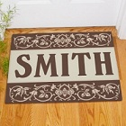 Our Family Personalized Welcome Door Mat