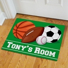 Personalized Basketball Sports Fan Doormats