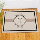 Initial Personalized Welcome Door Mat