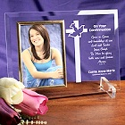 My Confirmation Personalized Beveled Glass Picture Frames