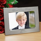 Official Ring Bearer Personalized Silver Picture Frames