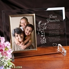 Your Memory is a Keepsake Personalized Beveled Glass Picture Frames