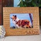 Until the End Personalized Pet Remembrance Picture Frame