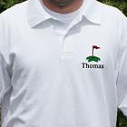 Embroidered Golf Polo Shirt