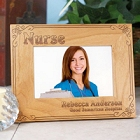Nurse Personalized Wood Picture Frames