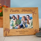 Our Vacation Personalized Picture Frame