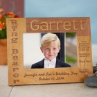 Ring Bearer Personalized Wood Picture Frames