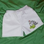 Golf Balls Men's White Personalized Golf Boxer Shorts