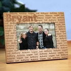 Family Name Personalized Grandma Picture Frames