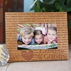 We Love... Personalized Grandparents Wooden Picture Frames