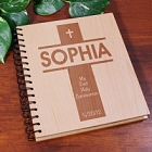 My First Communion Personalized Wood Photo Albums